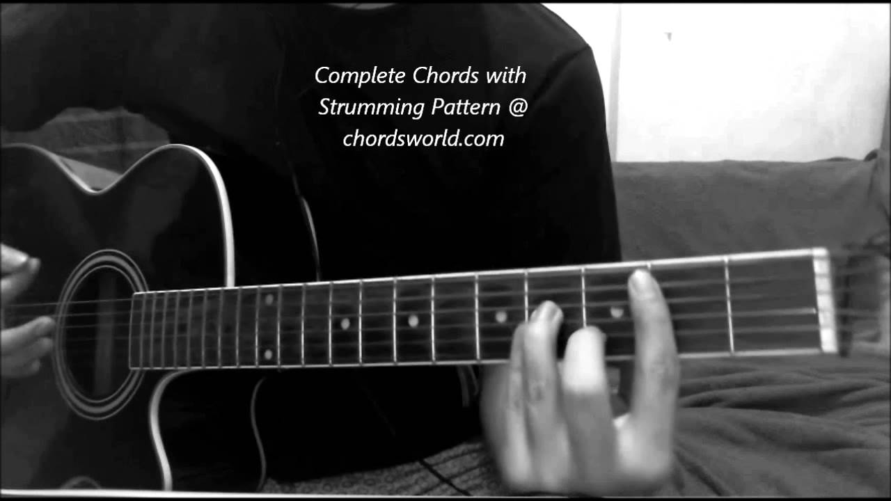 Bartender Chords By Lady Antebellum How To Play Chordsworld