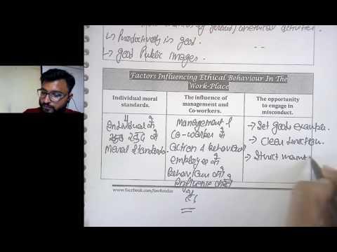 IPCC Ethics Revision-Work Place Ethics (CA Vineet Jain)