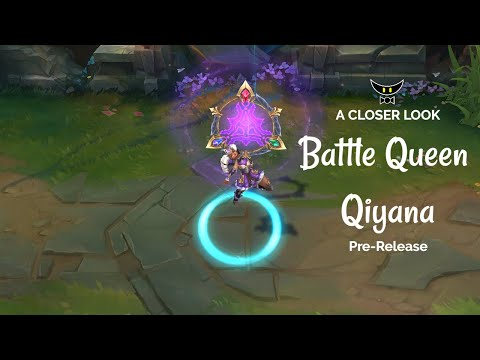 Battle Queen Qiyana Epic Skin (Pre-Release)