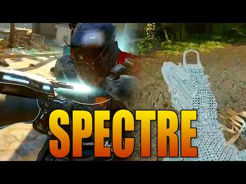 """Black Ops 3 SPECTRE Gameplay! """"The Ripper"""" Blade + Active Camo (Invisibility)"""