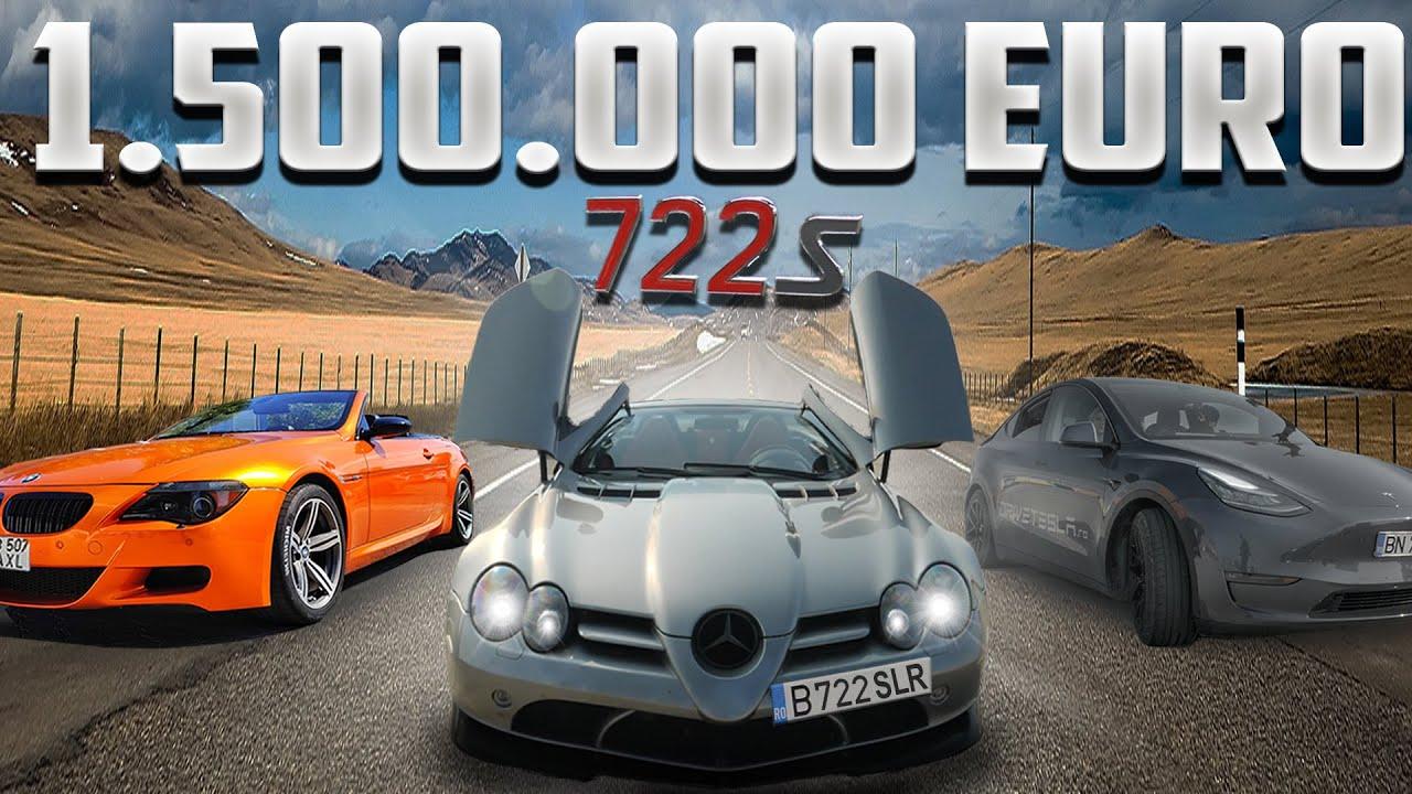 Mercedes SLR de 1 Milion EUR Vs. Tesla model Y