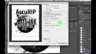 How to Setup AccuRIP Software for Screen Printing Halftones