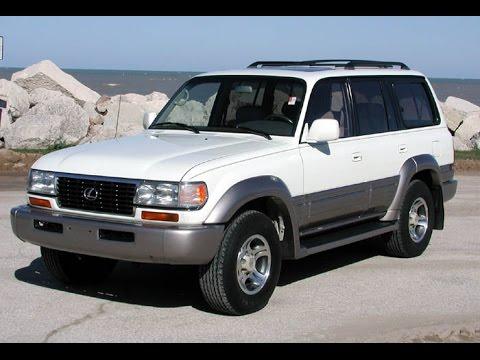 1997 Lexus LX450 White