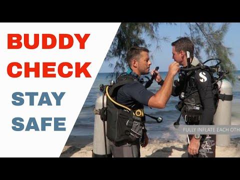 PADI Buddy Check BWRAF PADI IDC & Divemaster Skill Circuit