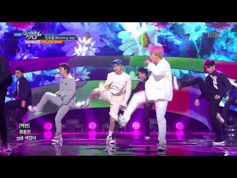 뮤직뱅크 Music Bank - 花요일(Blooming Day) - EXO-CBX(첸백시).20180420