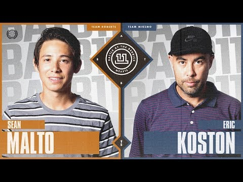BATB 11 | Sean Malto vs. Eric Koston - Round 1