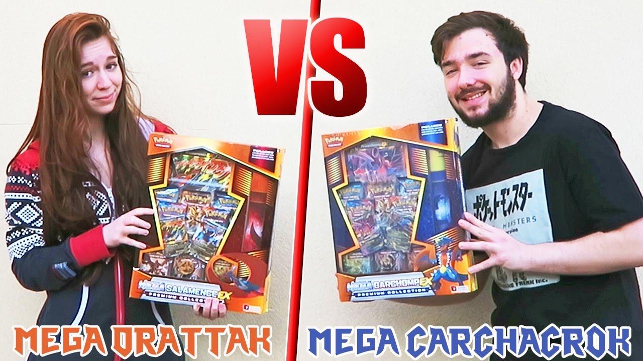 Epic battle ouverture de 2 m ga coffrets pok mon drattak ex carchacrok ex youtube - Mega carchacroc ...