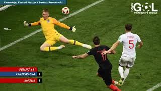 Chorwacja 2:1 Anglia   RadioGol.pl