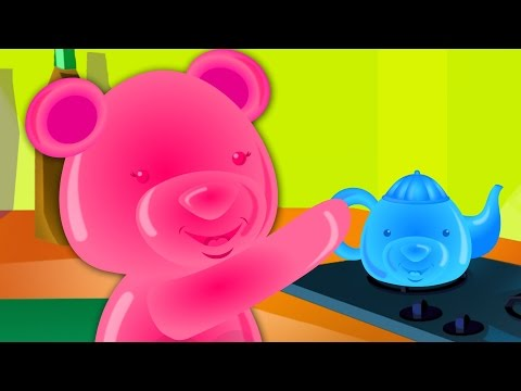 Polly Put The Kettle On | Nursery Rhymes | Songs For Children | Videos For Kids And Babies