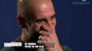 Pep Guardiola interview tactics football strategy (french subtitles)
