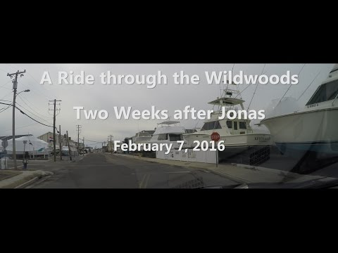 A Ride Through Wildwood Crest, Wildwood and North Wildwood February 7, 2016