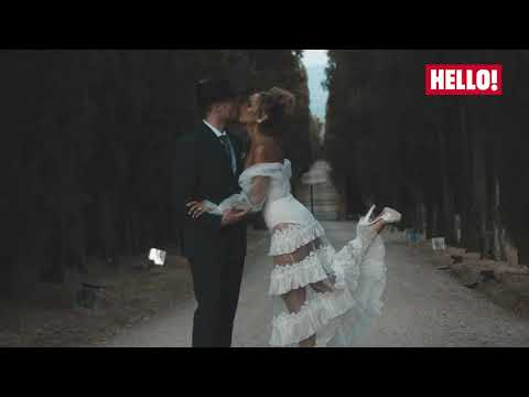 EXCLUSIVE: Watch Leona Lewis And Dennis Jauch's STUNNING Tuscan Wedding | Hello