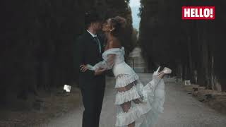 EXCLUSIVE: Watch Leona Lewis and Dennis Jauch's STUNNING Tuscan Wedding | Hello