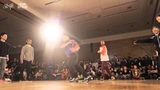 dogg pound vs now or never   strife   reign supreme 2013 crew   1st rd