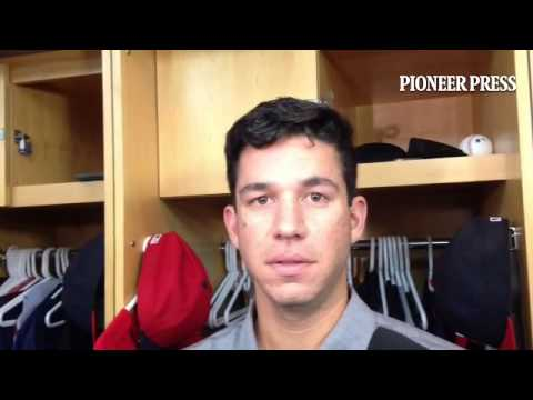 Video 2: Tommy Milone on burden of adjustment after beating one team three times in same season. #MN