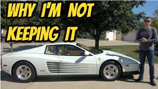 Here's Everything I Love About My Bargain Ferrari Testarossa (and the One Thing I Hate)