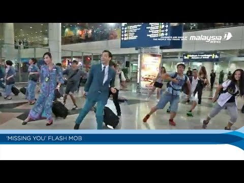 Malaysia Airlines 'Missing You' Flashmob at KLIA