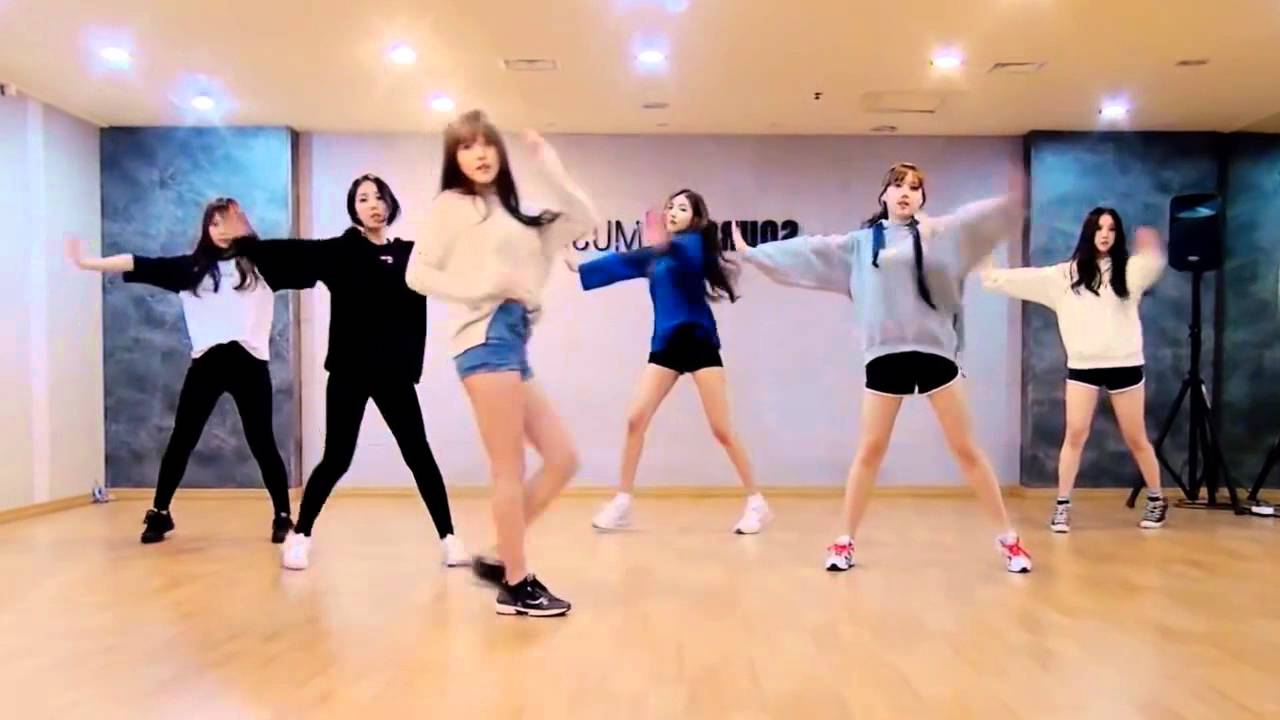 GFRIEND 'Rough' mirrored Dance Practice - YouTube