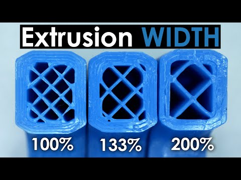 Extrusion Width - The magic parameter for strong 3D prints?