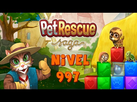 Pet Rescue Saga Nivel 997 | Sin Booster