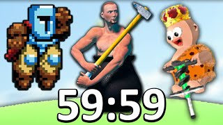 I beat the hardest games of all time in 1 hour.