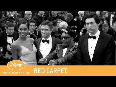 BLACKKKLANSMAN - Cannes 2018 - Red Carpet - EV