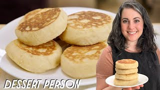Claire Saffitz Makes Classic English Muffins | Dessert Person