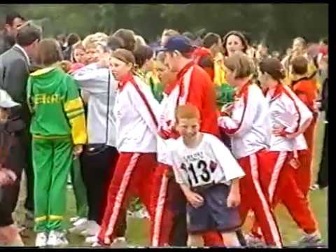 Community Games National Finals in 1996 Presented by Peter O'Meara and narrated by Ryle Nugent