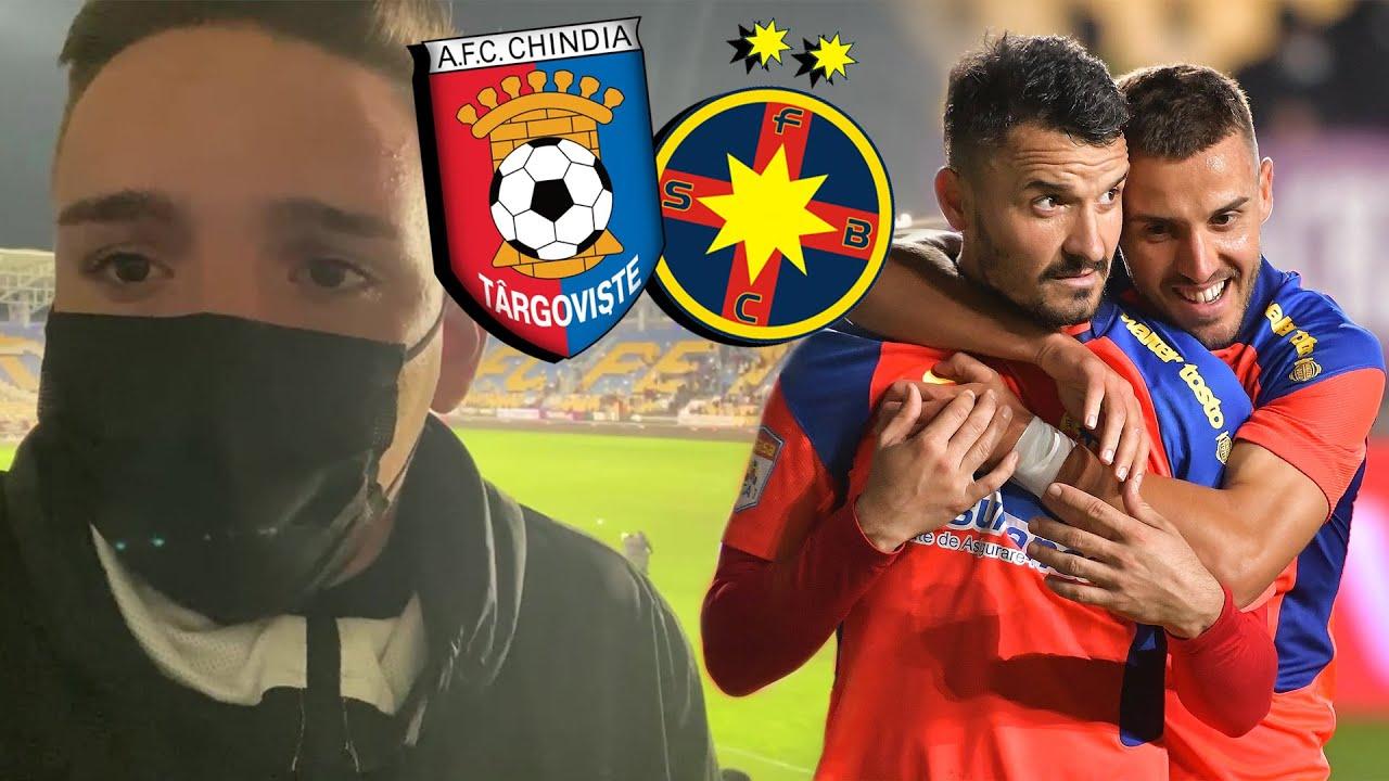 Chindia Târgoviște - FCSB 0-1 | VICTORIE INCREDIBILĂ LA ULTIMA FAZĂ