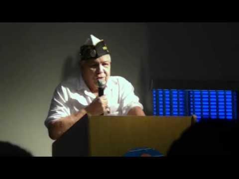 Joe Colon, of  American Merchant Marine Veterans, Maritime Day event 5.23.11  Dania Beach, Florida