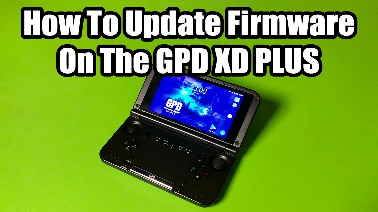 GPD XD PLUS - How To Update Firmware