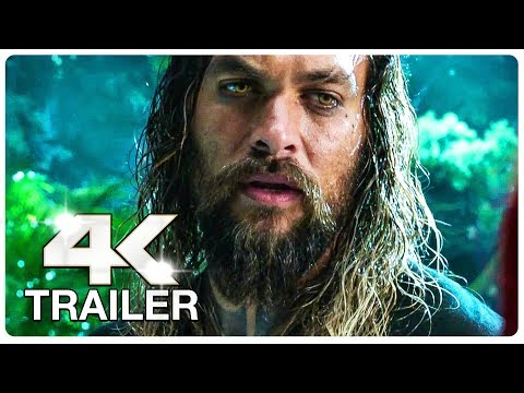 AQUAMAN Trailer 2 (4K ULTRA HD) NEW 2018