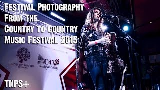 Country to Country (C2C 2015) O2 Arena London - a photographer