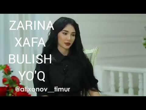 XaFa BuLish YO'Q .ZARINA Nizamidinova