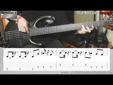 ?The Best of Rock! Ihr habt gewählt:#6 The Rolling Stones Satisfaction | BASS Tutorial Tab/Noten