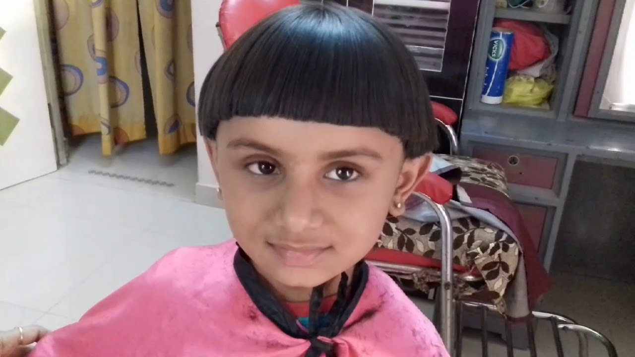 Summer Hair Cut Mushroom Hair Cut Easy Baby Hire Cut Youtube