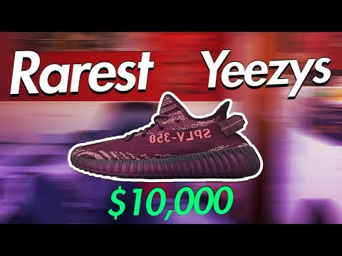 big sale 3ca36 ff257 Top 5 Rarest Yeezys Of All Time (Expensive Yeezy Boost 350 ...