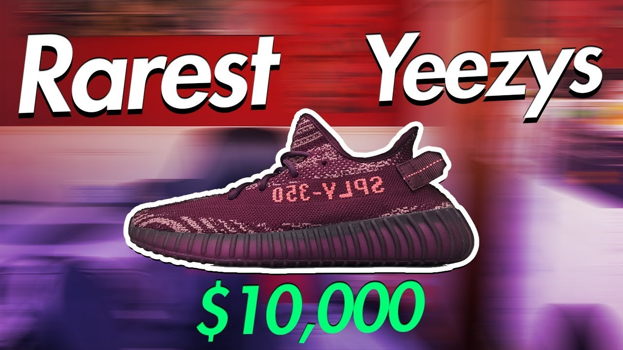 f020c7e3cfbfc Top 5 Rarest Yeezys Of All Time (Expensive Yeezy Boost 350) - YouTube