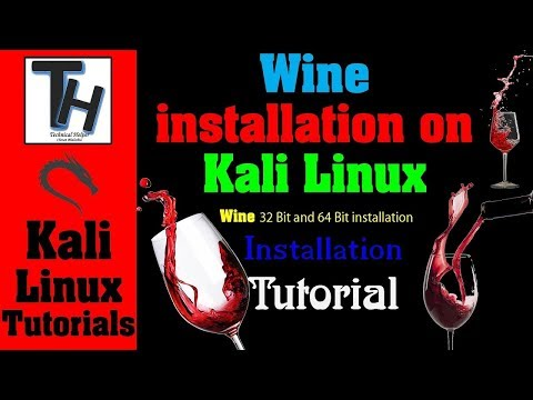 [ Hindi ] How to Install Wine On Kali Linux in Hindi || Wine installation Tutorial in Hindi