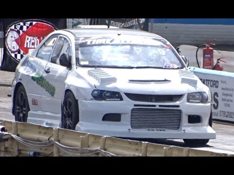 Norris Designs Evo 9 running a 9.8 and 9.3 @ 167 and 139 mph