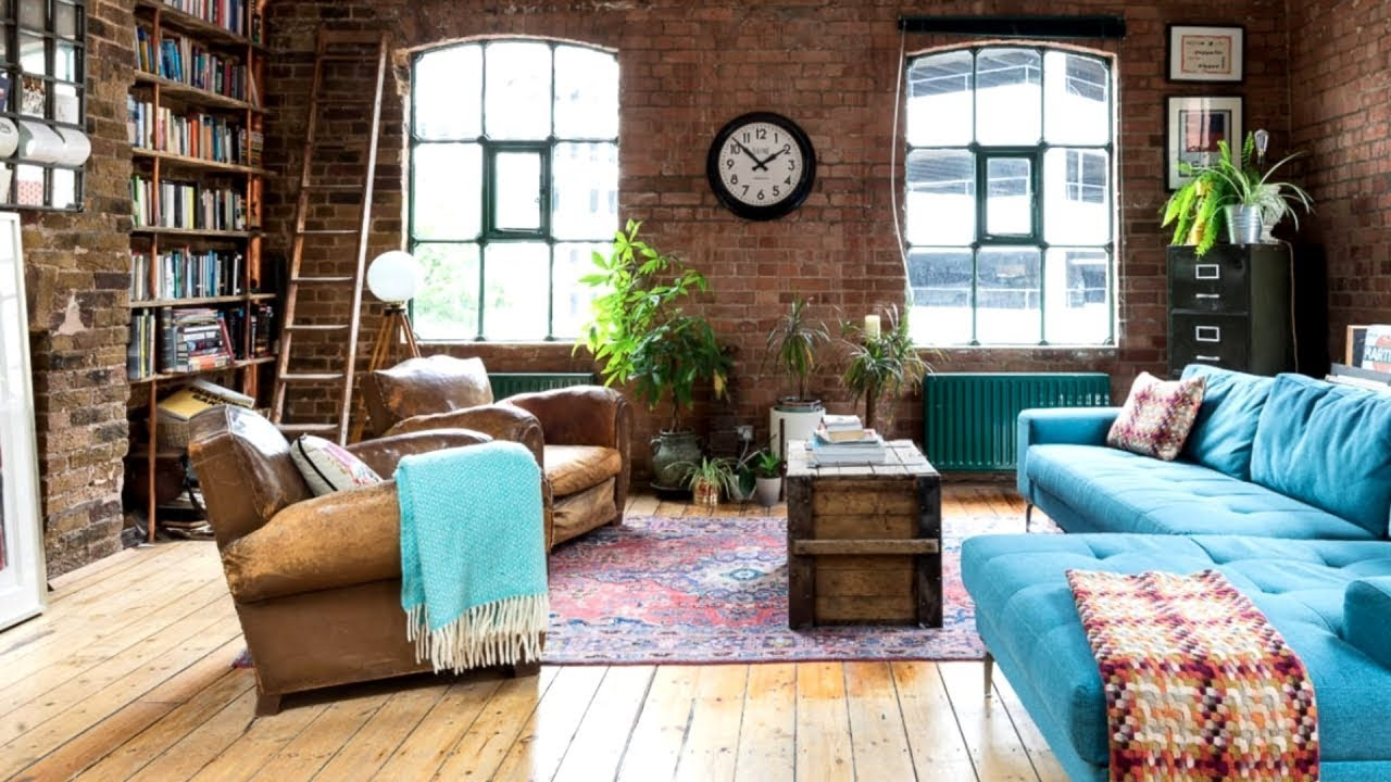 20 Industrial Apartment Design Ideas Youtube