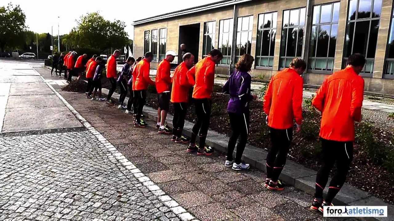 Introducción al 'natural running' con Asics
