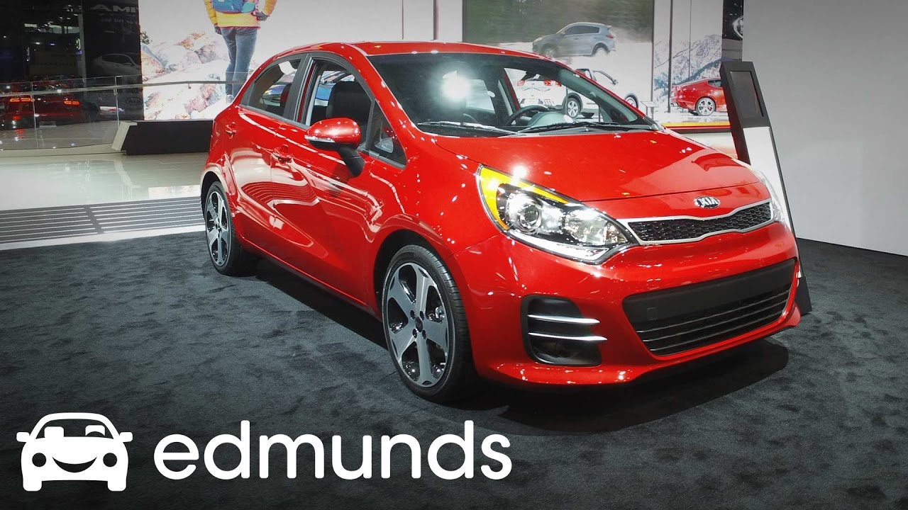 2017 Kia Rio Review Features Rundown Edmunds
