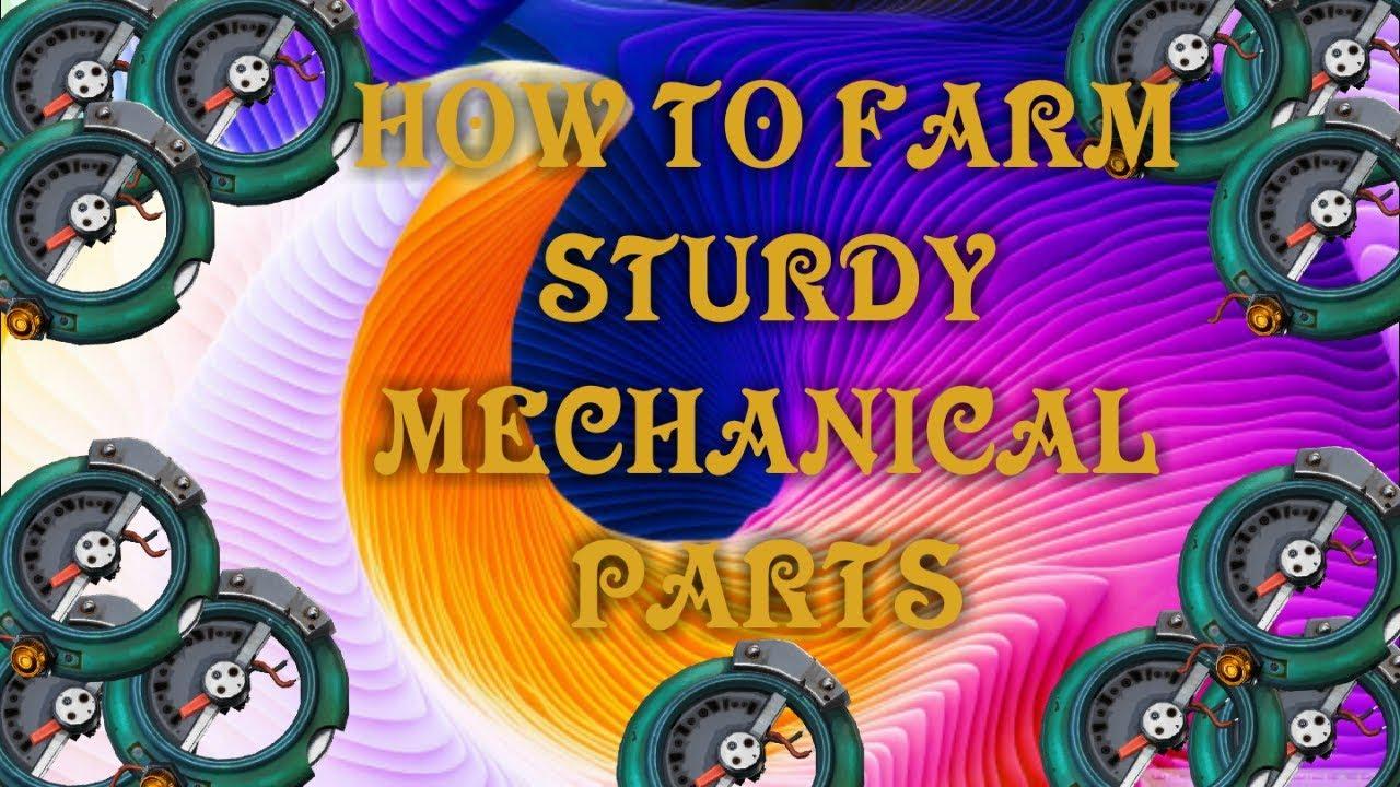 how to farm sturdy mechanical parts fortnite save the world - sturdy mechanical parts fortnite