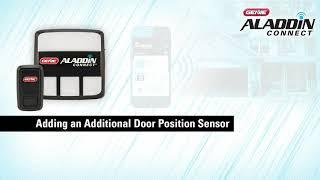 Genie Aladdin Connect: Add a Second or Third Door Position Sensor