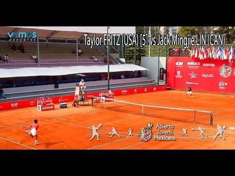 Taylor FRITZ (USA) [3] vs Jack Mingjie LIN (CAN) - Abierto Juvenil Mexicano ITF - Dia 3