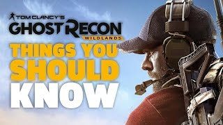 Things I Wish I Knew Before Starting Ghost Recon Wildlands
