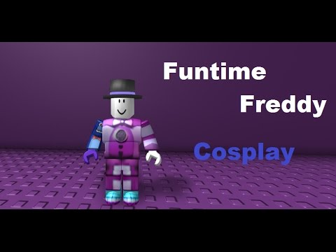 FUNTIME FREDDY Roblox Cosplay - YouTube