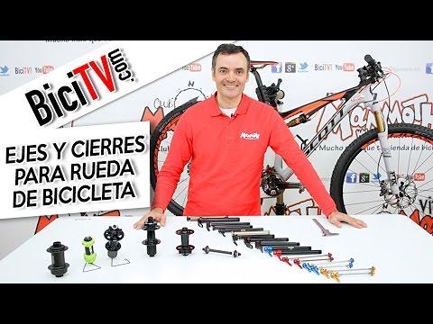 Tipos De Ejes Y Cierres De Rueda Para Bicicleta Youtube