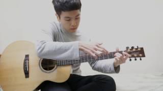 TAB : goo.gl/HIRg5f guitar:Lakewood M32 recorder:zoom H1.